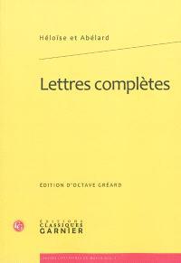 Lettres complètes