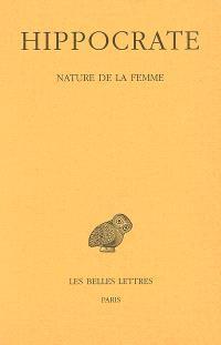 Oeuvres complètes. Volume 12-1, Nature de la femme