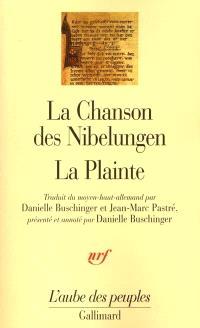 La chanson des Nibelungen; La plainte