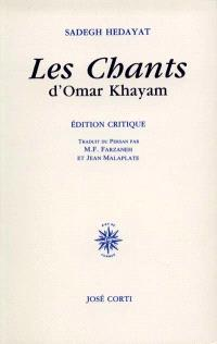 Les chants d'Omar Khayam