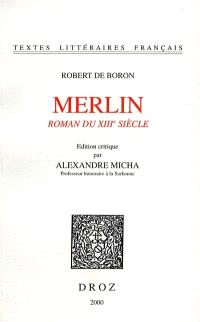 Merlin : roman du XVIIIe siècle