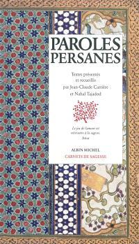 Paroles persanes