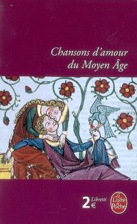 Chansons d'amour du Moyen Âge