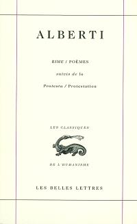 Oeuvres complètes. Volume 1, Rime; Poèmes; Protesta; Protestation