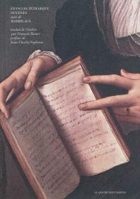 Sextines; Suivi de Madrigaux