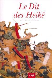 Le cycle épique des Taïra et des Minamoto. Volume 2, Le dit des Heiké