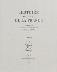 Histoire littéraire de la France. Volume 44, Odon de Morimond