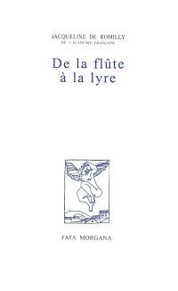 De la flûte à la lyre