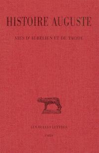 Histoire auguste. Volume 5, Vies d'Aurélien et deTacite