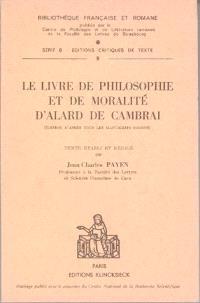 Le Livre de philosophie et de moralité
