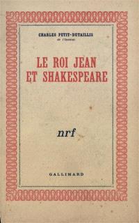 Le roi Jean et Shakespeare