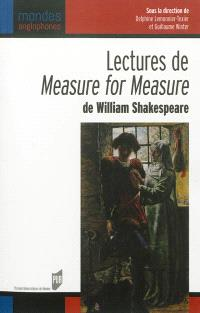 Lectures de Measure for measure de William Shakespeare