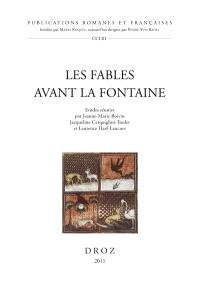 Les fables avant La Fontaine