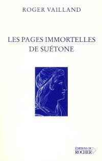 Les pages immortelles de Suétone