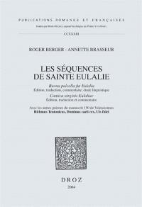 Les séquences de sainte Eulalie