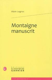 Montaigne manuscrit