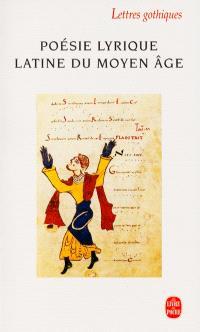 Poésie lyrique latine du Moyen Age
