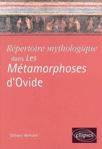 Répertoire mythologique dans Les métamorphoses d'Ovide