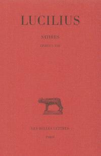 Satires. Volume 1, Livres I à VIII