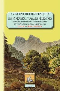 Les Pyrénées ou Voyages pédestres dans toutes les régions de ces montagnes depuis l'Océan jusqu'à la Méditerranée. Volume 3, Ariège-Roussillon : Pyrénées-Orientales