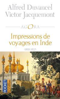 Impressions de voyages en Inde : 1818-1832