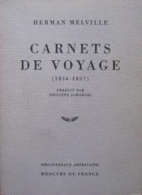 Carnets de voyage (1856-1857)