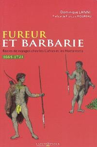 Fureur et barbarie : récits de voyageurs chez les Cafres et les Hottentots (1665-1721)