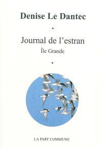 Journal de l'estran : île Grande