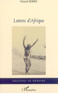 Lettres d'Afrique