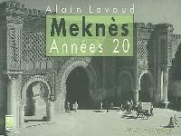 Meknès, années 20