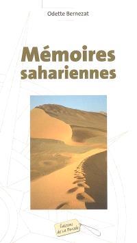 Mémoires sahariennes