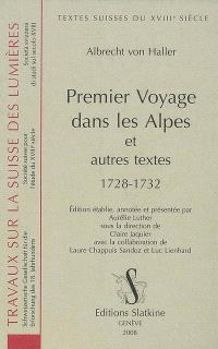 Premier voyage dans les Alpes : et autres textes : 1728-1732