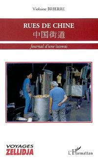 Rues de Chine : journal d'une laowai
