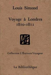 Voyage à Londres, 1810-1811; Lettres extraites de la correspondance anglaise de Tocqueville et Nassau William Senior
