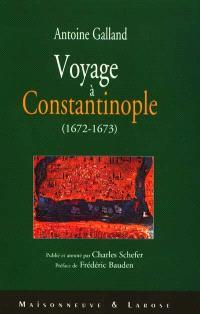 Voyage à Constantinople (1672-1673)