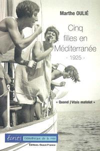 Cinq filles en Méditerranée, 1925