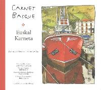 Carnet basque = Euskal karneta