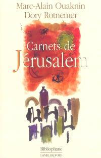 Carnets de Jérusalem