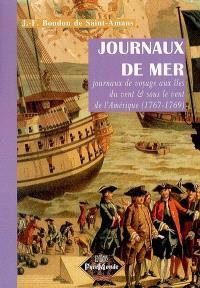 Journaux de mer : journaux de voyage aux îles du vent & sous le vent de l'Amérique (1767-1769)