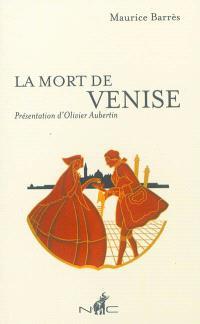 La mort de Venise