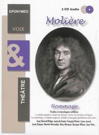 Molière : hommage : tirades et monologues célèbres