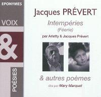 Intempéries (Féerie) : & autres poèmes