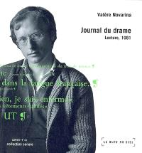 Journal du drame, lecture, 1981