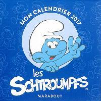 Les Schtroumpfs : mon calendrier 2017