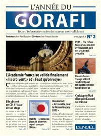 L'année du Gorafi : toute l'information selon des sources contradictoires. Volume 2