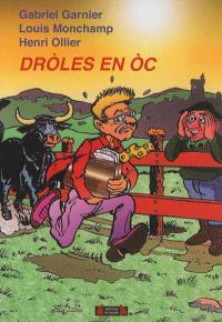 Droles en oc : recueil d'histoires drôles en occitan