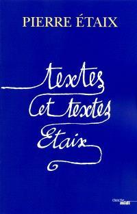 Textes et textes, Etaix