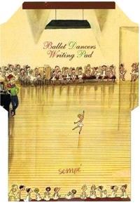 Ballet dancers writing pad