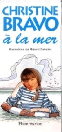 Christine Bravo à la mer