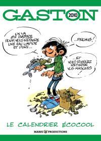 Gaston 2010 : le calendrier écocool